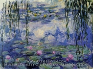 Water Lilies 1916-19 by Claude Monet