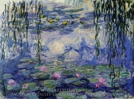 Water Lilies 1916-19 painting reproduction, Claude Monet