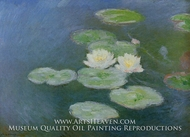 Water Lilies, Evening Effect by Claude Monet