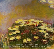 Water Lilies, Yellow by Claude Monet