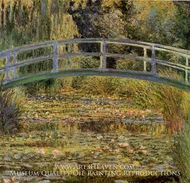 Water-Lily Pond by Claude Monet