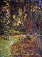 Water-Lily Pond at Giverny by Claude Monet