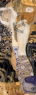 Water Serpents I painting reproduction, Gustav Klimt