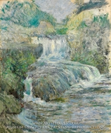 Waterfall by John Henri Twachtman