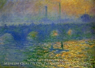 Waterloo Bridge, London by Claude Monet