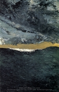 Wave VII painting reproduction, August Strindberg