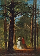 Waverly Oaks painting reproduction, Winslow Homer