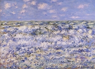 Waves Breaking by Claude Monet