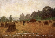 Wheat-wain Afield by John Ottis Adams