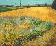 Wheatfield by Vincent Van Gogh