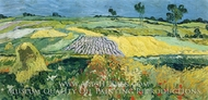 Wheatfields by Vincent Van Gogh