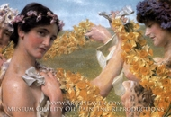 When Flowers Return painting reproduction, Sir Lawrence Alma-Tadema