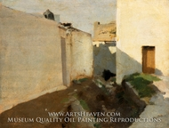 White Walls in Sunlight, Morocco by John Singer Sargent