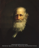 William Cullen Bryant by Thomas LeClear