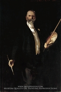 William M. Chase, N. A. by John Singer Sargent