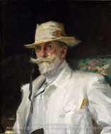 William Merritt Chase by Annie Traquair Lang