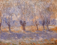 Willows, Giverny by Claude Monet