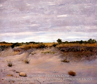Wind Swept Sands, Shinnecock, Long Island by William Merritt Chase
