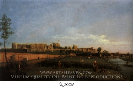 Painting Reproduction of Windsor Castle, Canaletto