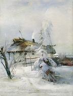 Winter by Alexey Savrasov