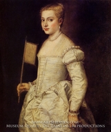 Woman in White by Titian