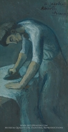 Woman Ironing by Pablo Picasso (inspired by)