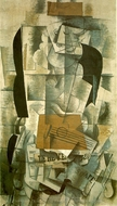 Woman with a Guitar painting reproduction, Georges Braque