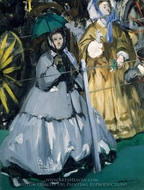 Women at the Races painting reproduction, Edouard Manet