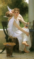 Work Interrupted (Le Travail Interrompu) by William Adolphe Bouguereau