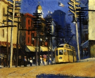 Yonkers painting reproduction, Edward Hopper