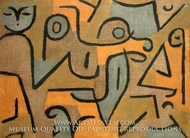 Young Moe by Paul Klee