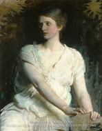 Young Woman by Abbott Handerson Thayer