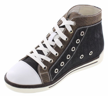 CALDEN - K882898 - 3 Inches Taller (Black and Grey)
