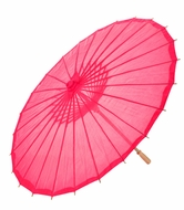 "32"" Hot Pink Parasol Umbrella, Premium Nylon"