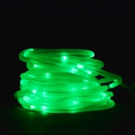 50 Green LED Solar Powered Garden Stake Rope Tube String Light  w/ Light Sensor (16.5 FT)