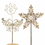 Bedazzled Place Card Holders
