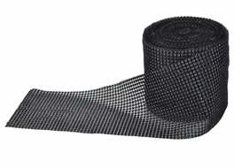 BLOWOUT Black Diamond Rhinestone Bling Mesh Wrap (30 FT)