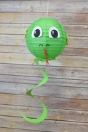 "BLOWOUT 8"" Paper Lantern Animal Face DIY Kit - Snake (Kid Craft Project)"