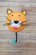 "8"" Paper Lantern Animal Face DIY Kit - Tiger (Kid Craft Project)"