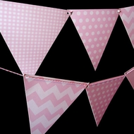 Mix Color Pennant Flag Banners