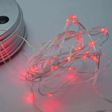 MoonBright™ LED Mason Jar Lights, Battery Powered for Regular Mouth - Red (Lid Light Only)