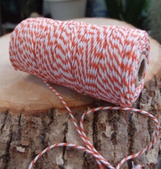 BLOWOUT Orange Bakers Twine Decorative Craft String (110 Yards)