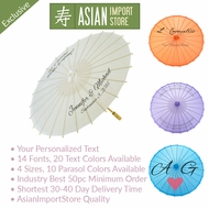 Personalized Printed Nylon Parasol Umbrellas
