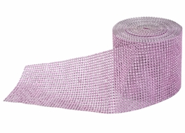 Pink Diamond Bling Wrap Roll - 30 FT