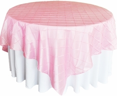 Pintuck Chameleon Table Covers and Overlays