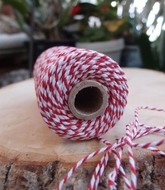 Red Bakers Twine Decorative Craft String (110 Yards)