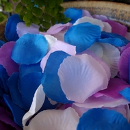 Silk Rose Flower Petals