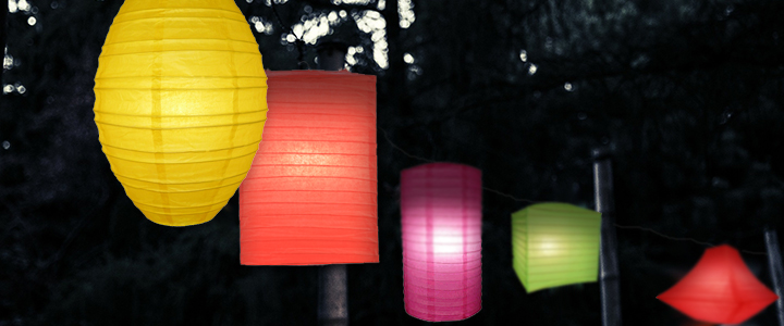 Unique-Shaped Paper Lanterns
