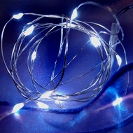 Waterproof LED String Lights - Battery Operated