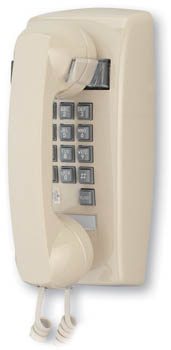 2554 Basic Wall Mount Phone w/ Flash & Message Waiting - 255444VBA20M